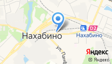 Нахабинская городская больница на карте