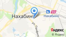 Нахабино Центральное на карте
