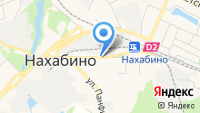 Нахабинская городская похоронная служба на карте