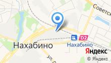 Красногорский завод металлоконструкций на карте