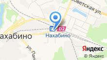 Рублёвский на карте