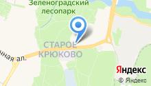 30-й отряд ФПС по г. Москве на карте