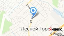 Луковка на карте