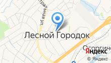 Лесногородская средняя общеобразовательная школа на карте
