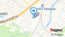 Московский метрополитен, ГУП на карте