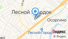 Мировые судьи Химкинского района на карте