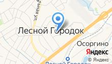 Администрация городского поселения Лесной городок на карте