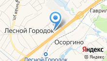 Калужский на карте