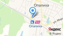 Магазин колбасных изделий на ул. Опалиха на карте