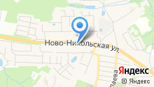 Автомойка на Ново-Никольской на карте