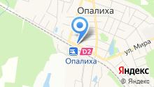 Ателье по ремонту одежды на ул. Опалиха на карте