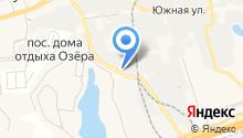 Окуловский завод мебельной фурнитуры, ЗАО на карте
