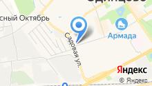 С+В на карте