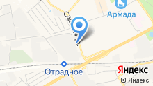 Мособлгаз, ГУП на карте