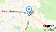Министерство жилищно-коммунального хозяйства Московской области на карте