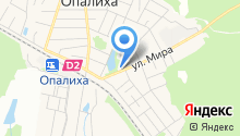 Опалиховская городская поликлиника на карте