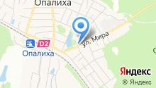 Опалиховская городская библиотека на карте