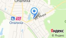 Опалиховская городская библиотека №17 на карте