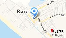Кристакис на карте