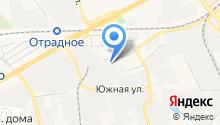 Автостоп, МУП на карте