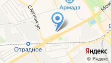 Наш район Одинцово на карте