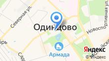 Администрация Одинцовского муниципального района на карте