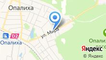 Магазин сантехники и электротоваров на ул. Мира на карте