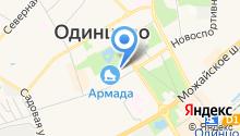 Олимпиец на карте