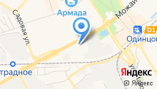 Гефест 2002 на карте