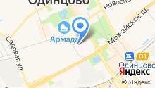 Одинцовская центральная районная больница на карте