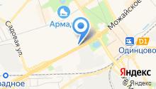 Хлебозавод №22, ЗАО на карте