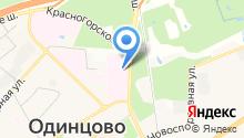 Одинцовский центр по профилактике и борьбе со СПИДом на карте