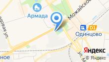 Калибровский завод на карте