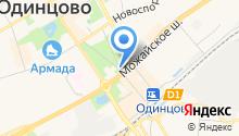 Киоск фастфудной продукции на карте