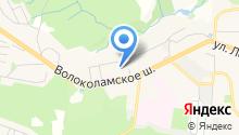 Косметичка на карте