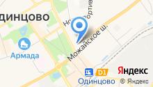Красногорка-4 на карте