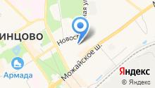 Бюро медико-социальной экспертизы №38 на карте