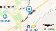Ремонтная мастерская на Можайском шоссе на карте
