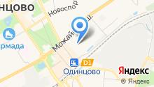 Сауна на Вокзальной на карте