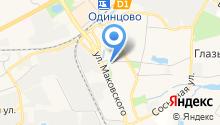 Одинцовское городское хозяйство, МБУ на карте