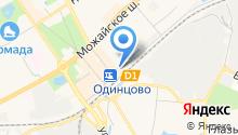 Магазин тканей на карте