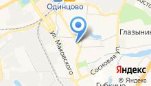 Одинцовское юридическое бюро на карте
