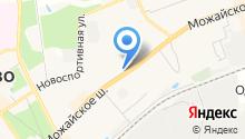 Мастерская по ремонту компьютеров на Можайском шоссе на карте