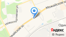 Магазин разливного пива на Можайском шоссе на карте