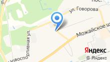 Мировые судьи Одинцовского района на карте
