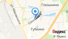 Магазин мобильных устройств на карте