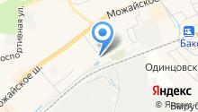 Шиномонтаж в Одинцово - Круглосуточный шиномонтаж в Одинцово на карте
