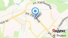 КрасЮрКом, ЗАО на карте