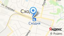 Интернет-магазин одежды на карте