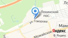 Окна СМ на карте